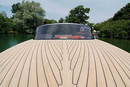 Synthetic teak decking Flexiteek