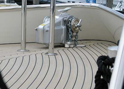 Boat flooring Flexiteek